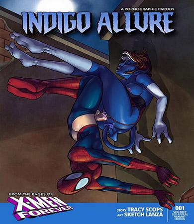 Indigo Allure - SPIDERMAN