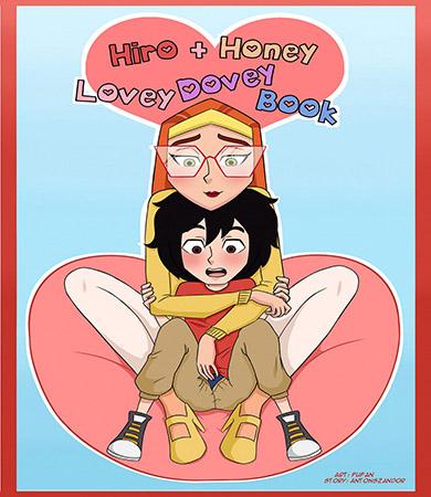 HIRO and HONEY Lovely Dovey Book