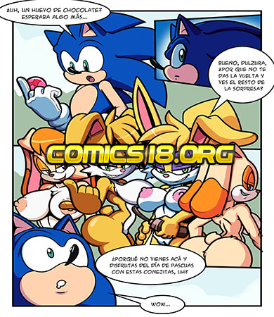 SONIC GIRLS Easter